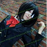 Flyingdragon Another Misaki Mei Black Short Cosplay Wig by FD
