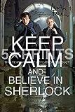 Sherlock, Sherlock Keep Calm (Bleib Ruhig), Englischer Text, Benedict Cumberbatch, Martin Freeman 30.48 X 20.32 cm Poster