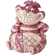 """Disney Tradiciones """"gato de Cheshire Mini figura decorativa"""