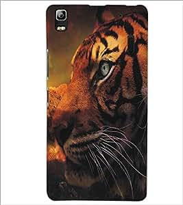 LENNOVO A7000 TIGER Designer Back Cover Case By PRINTSWAG