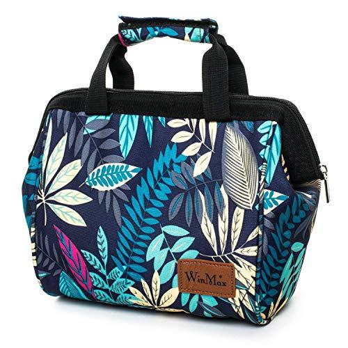 winmax Kühltasche Picknicktasche,Picknicktasche klein,Lunch-Tasche,kleine Kühltasche für Arbeit,Kühltasche klein für die Schule, Thermotasche Lunch Bag, 7L