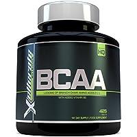 BCAA Compressa 1000mg - 425 Compresse - Dose Giornaliera 3000mg - Scorta Per 141 Giorni - Di Amminoacidi A Catena Ramificata 2:1:1 + B6 - Gli Ingredienti Includono L-leucina, L-isoleucina, L-valina