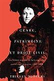 Telecharger Livres Genre Patrimoine Et Droit Civil Les Femmes Mariees De La Bourgeoisie Quebecoise En Proces 1900 1930 (PDF,EPUB,MOBI) gratuits en Francaise
