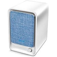 Levoit Purificador de Aire para Hogar, Oficina y Escritorio con Filtro HEPA de Eficiencia 99,97%, Liviano y Portátil con Diseño Compacto para Alergia, Tabaco, Olor, Caspas de Mascotas, Azul, LV-H126