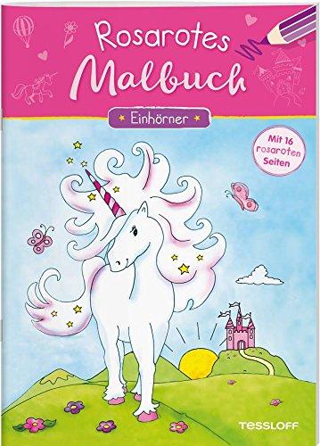 Rosarotes Malbuch. Einhörner: Mit 16 rosaroten Seiten! (Malbücher und -blöcke)