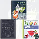 Healthy Hedonist, Experimental Cocktail Club and 200 Classic Cocktails [Paperback] 3 Books Bundle Collection - 40 naughty but nourishing cocktails