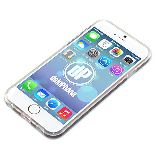deinphone Apple iPhone 6Plus (5.5) Coque bumper Case Drapeau rétro de l'Allemagne