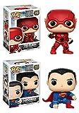 Funko POP! Justice League: The Flash + Superman – DC Vinyl Figure...