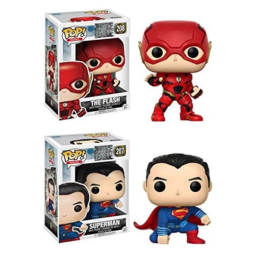 Pack 2 Superman + Flash