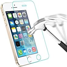 TM ACCESS FRANCE®-Apple iPhone 5/5S/5C Cristal Vidrio Templado Protector de pantalla resistente a los arañazos y Ultra resistente 0,3mm