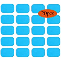 Abs Stimulator Gel Pads Replacement Gel Sheet for EMS Muscle Trainer Abs Muscle Toning Belt, Fitness Electric Pads Accessory for Abs Toner Abs Stimulator Abdominal Workout Toning Belt