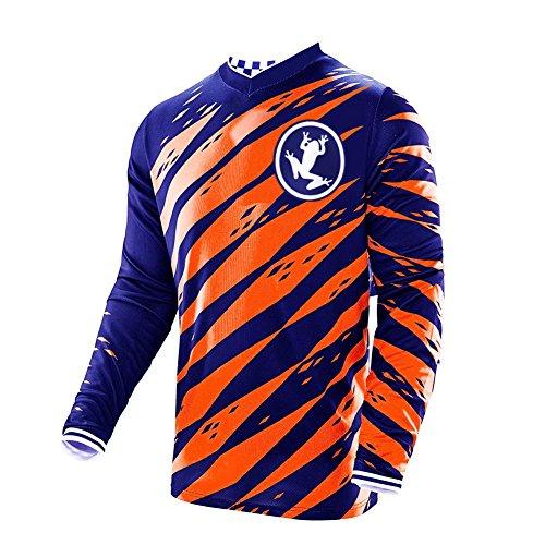 Uglyfrog 2019 V-Collar Lange Ärmel MTB Cycling Jersey Frühlingsart Motocross Mountain Bike Downhill Shirt Herren Sportbekleidung Kleidung