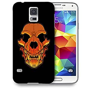 Snoogg Skull Of A Monster Designer Protective Back Case Cover For SAMSUNG GALAXY S5