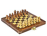 #10: Kriwin Collectible Folding Wooden Chess Game Board Set 10