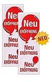 Plakate 2 Stück aus Papier 150g/qm 48 x 138 cm Neu ERÖFFNUNG Werbesymbol