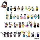 37-teiliges Mini-Figuren Set, Lernspielzeug, großartiges Geschenk für Baustein-Liebhaber, Geburtstage, Feiertage und Partys
