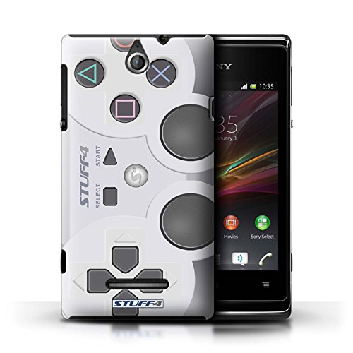 Kobalt® Imprimé Etui / Coque pour Sony Xperia E / Super Nintendo conception / Série Console (jeux vidéo) Playstation PS1