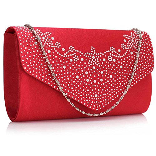 Xardi London, Borsa baguette donna Red
