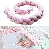 Baby Kinderbett Stoßstangen Zöpfe Schutz Schlange Kissen Home Dekoration 100cm 150cm 200cm