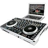 Numark N4 Contrôleur DJ avec Mixer Noir
