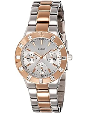 Guess Damen-Armbanduhr Analog Quarz Edelstahl W14551L1