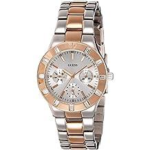 Guess  W14551L1 - Reloj de lujo para mujer, color plateado / rosa