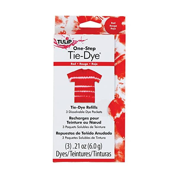 Tulip One-Step Dye Refills Red