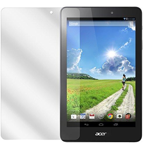 dipos I 2X Schutzfolie klar passend für Acer Iconia One 8 B1-810 Folie Bildschirmschutzfolie