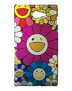 Pickpattern Back Cover for Sony Xperia M2/Sony Xperia M2 Dual Sim