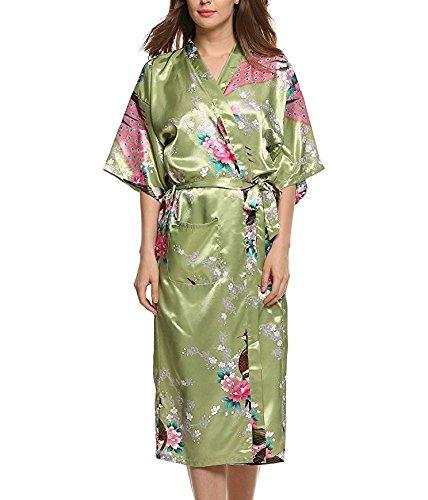 frau-sommer-pyjama-emulation-seide-pfau-lange-bademantel-abschnitt-green-beans-l
