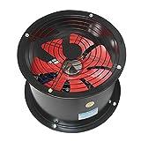 IPOTCH Ventilador de Extracción Industrial Ventilador de Ventilación de Aire Negro 20x24cm