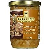Jean Larnaudie Cassoulet au Confit de Canard Bocal Twist Off 750 g - Lot de 2