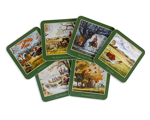 6-thelwell-hunting-coasters-from-his-iconic-sporting-prints-british-made