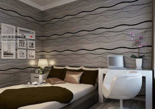 qihang-high-grade-non-woven-flocking-simple-curve-style-wallpaper-roll-blackgray-color-053m20810m328