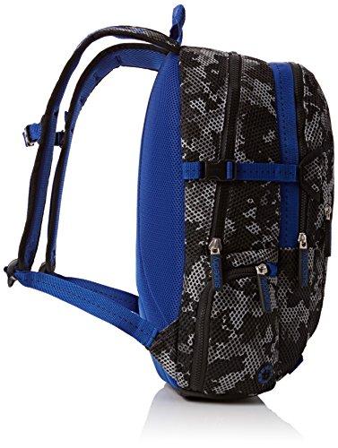 Superdry Men's Camo Mesh Shoulder Bag Multicolour Multicolore - Grey/Cobalt Image 4