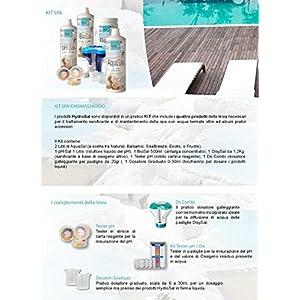 hydrosal DisySal 20 Tab 1,2 kg Ossigeno Attivo in pastiglie da 20gr.Ideale per Piscina o Idromassaggio(Teuco,Jacuzzi,Dimhora,Intex,Bestway,ECC.) Spedizione IMMEDIATA
