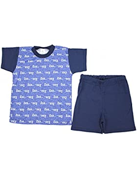 TupTam Jungen Shorty Pyjama Set: Kurzarm Shirt & Shorts