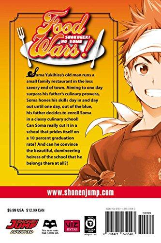 FOOD WARS SHOKUGEKI NO SOMA GN VOL 01