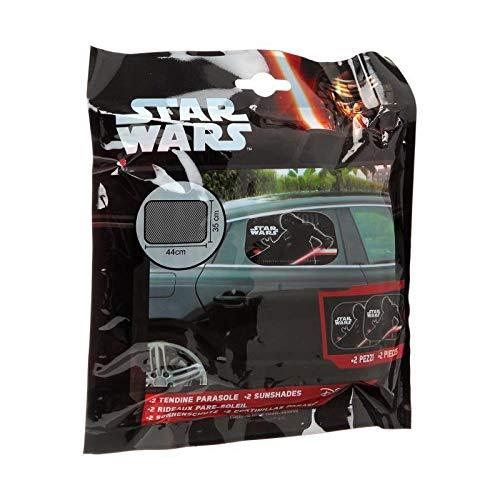 Disney 28155 coppia tendine parasole laterali star wars universali 44x35cm
