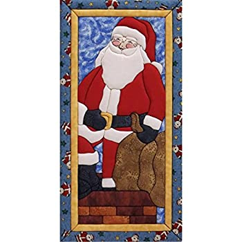 Quilt Magic Rooftop Santa Quilt Magic Kit, Mehrfarbig 0