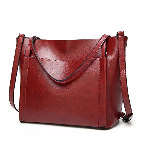 ANNE , Damen Tote-Tasche rot C-Wine red C-Wine red