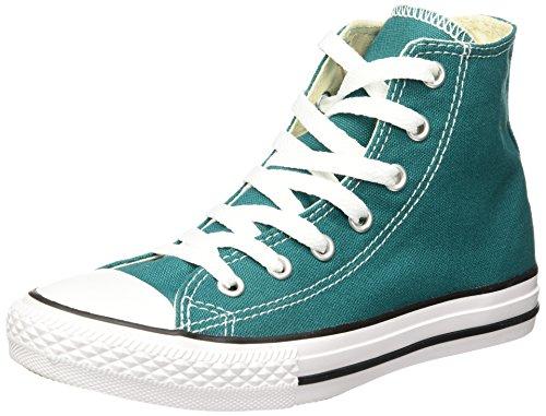 Converse - All Star Hi Canvas - H2, Sneaker alte Unisex – Bambini Verde
