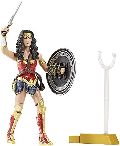 Mattel DJH17 Batman Verses Superman Movie Collector Wonder Woman Figur, 15 cm