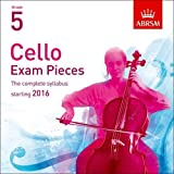 Cello Exam Pieces 2016 2 CDs, ABRSM Grade 5: The...