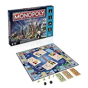 Hasbro Spiele B2348100 – Monopoly World, Familienspiel