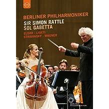 Sir Simon Rattle And Sol Gabetta