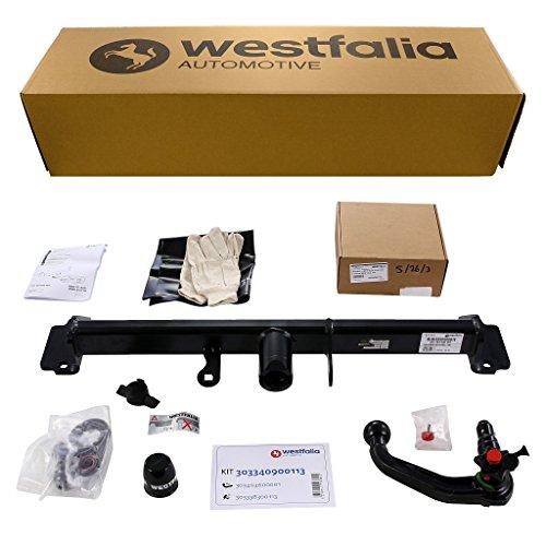 Abnehmbare Westfalia Anhängerkupplung für X3 F25 (BJ 11/2010 - 09/2014) im Set mit 13-poligem fahrzeugspezifischen Westfalia Elektrosatz