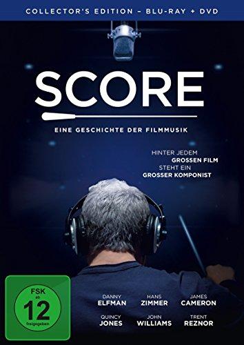 Score - Eine Geschichte der Filmmusik - Collector\'s Edition  (+ DVD) [Blu-ray]
