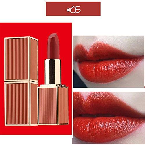 Lipgloss,Rabatt,PorLous 2019 Beliebt 1 Stücke Lippenstift Feuchtigkeitscreme Samt Lippenstift Makeup Beauty Makeup Feuchtigkeitsspendend 5