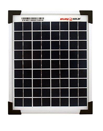 Silicio policristalino con eficiencia de conversión de células del 18 %. Sin diodos, aunque se pueden integrar adicionalmente. Superficie de vidrio solar templado altamente resistente recubrimiento resistente al agua. Con certificación TÜV. Marco de...